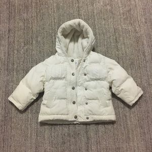Baby Gap Cream Winter Jacket 18-24mo